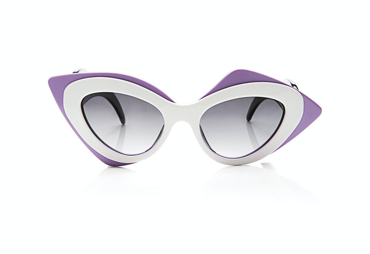 Linda Farrow + Prabal Gurung sunglasses