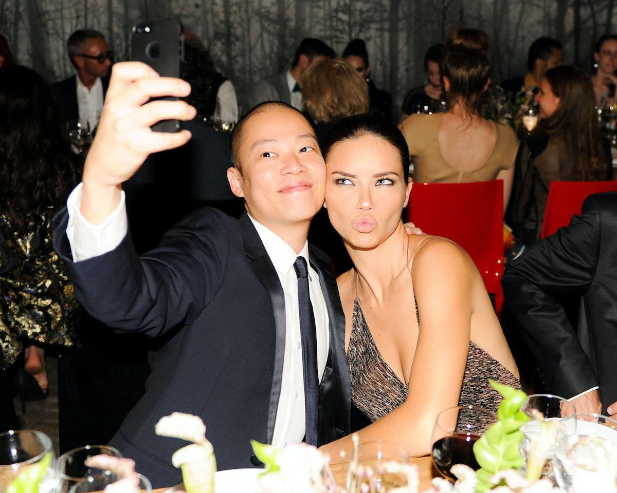 Jason Wu and Adriana Lima