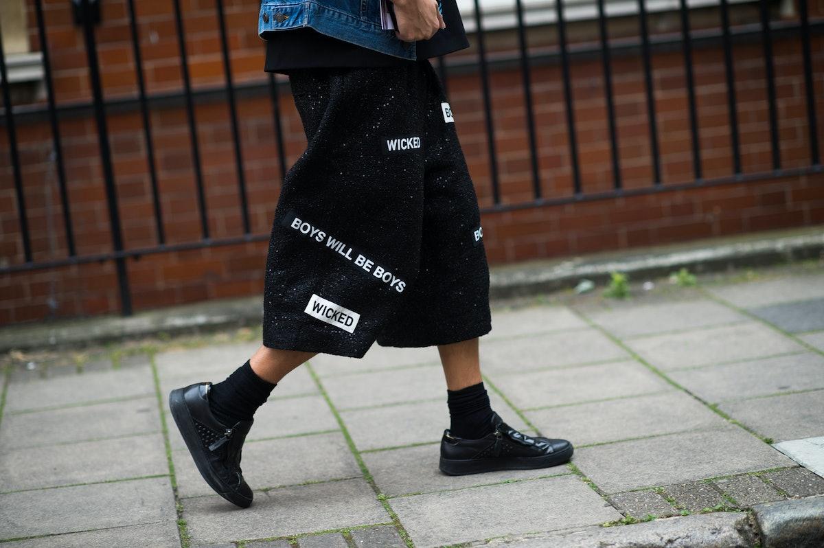 London Men's Fashion Week Street Style