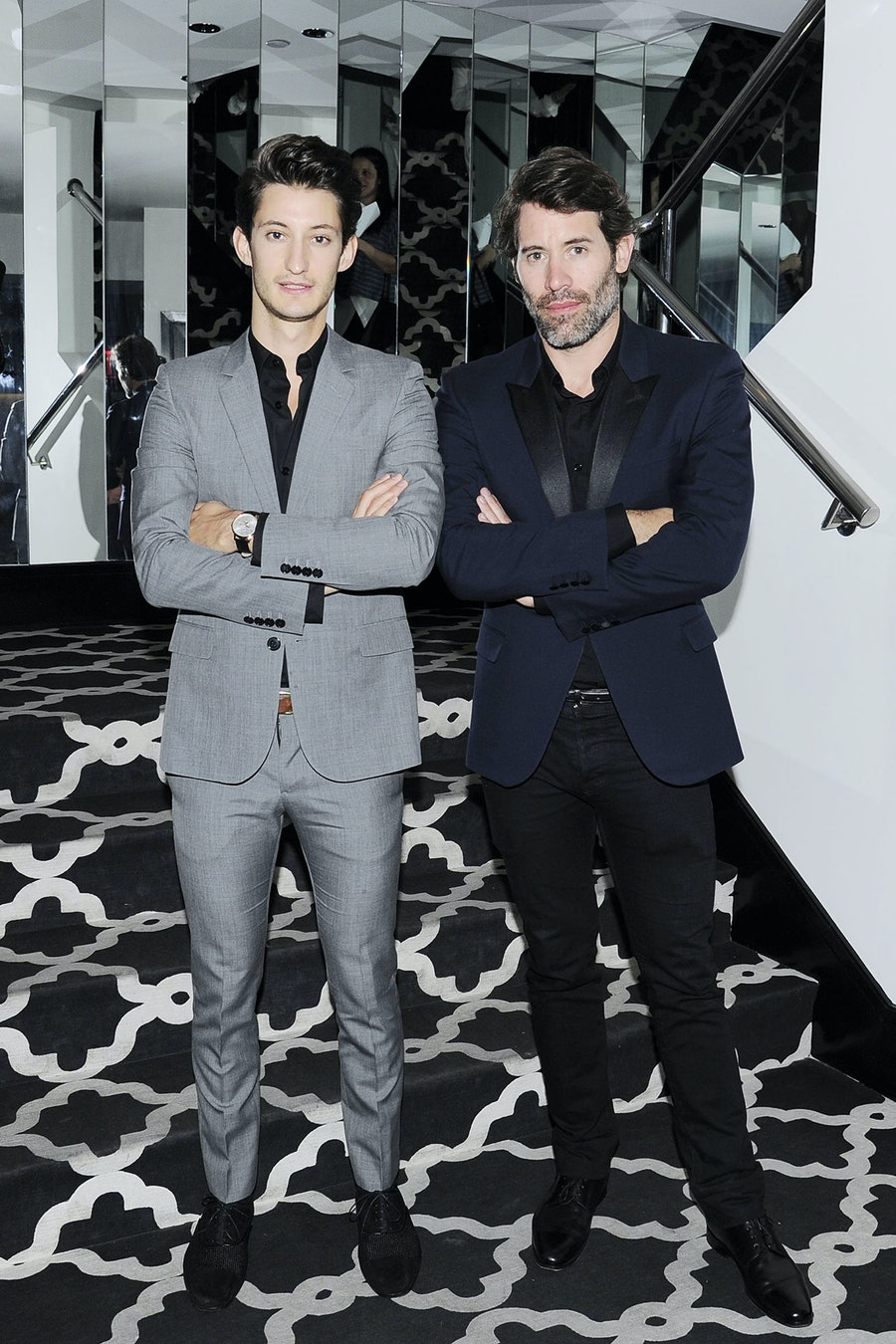 Pierre Niney and Jalil Lespert