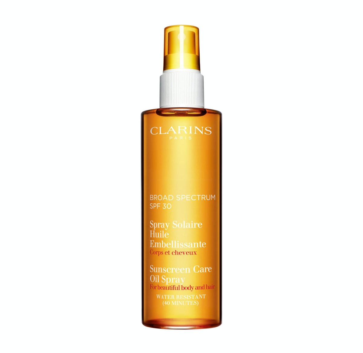 Clarins Sunscreen Spray Oil-Free Lotion