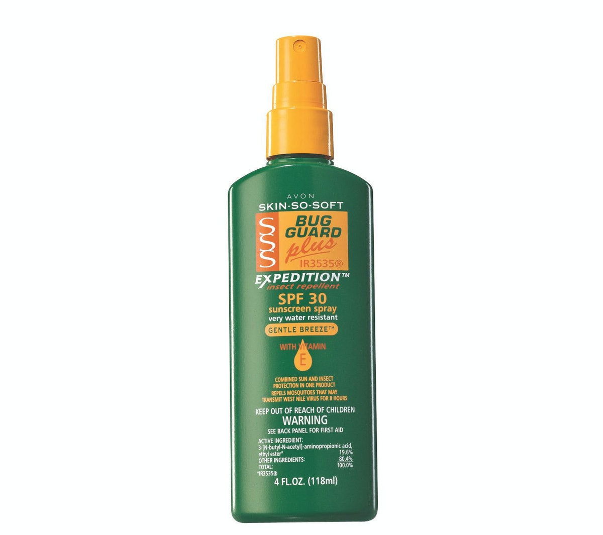 Avon Skin So Soft Sunscreen