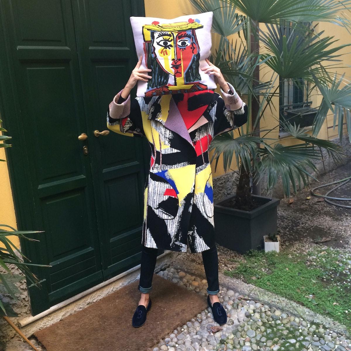 Picasso Pillow Giovanna Battaglia