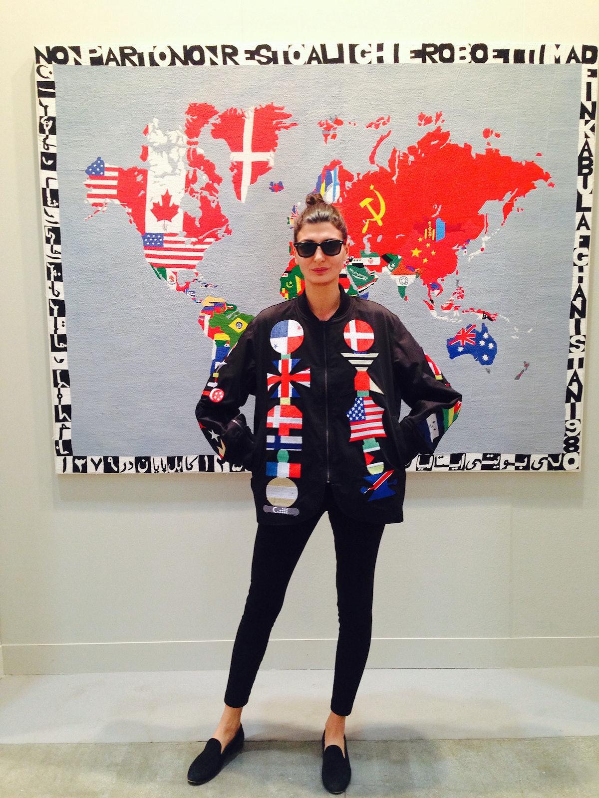 Giovanna Battaglia Frieze Art Fair
