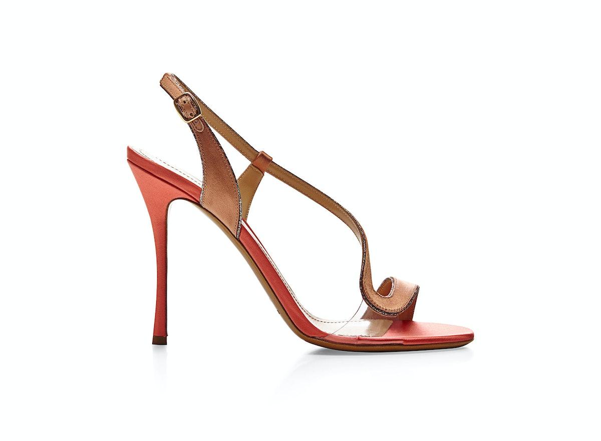 Nicholas Kirkwood Satin and PVC Sandals