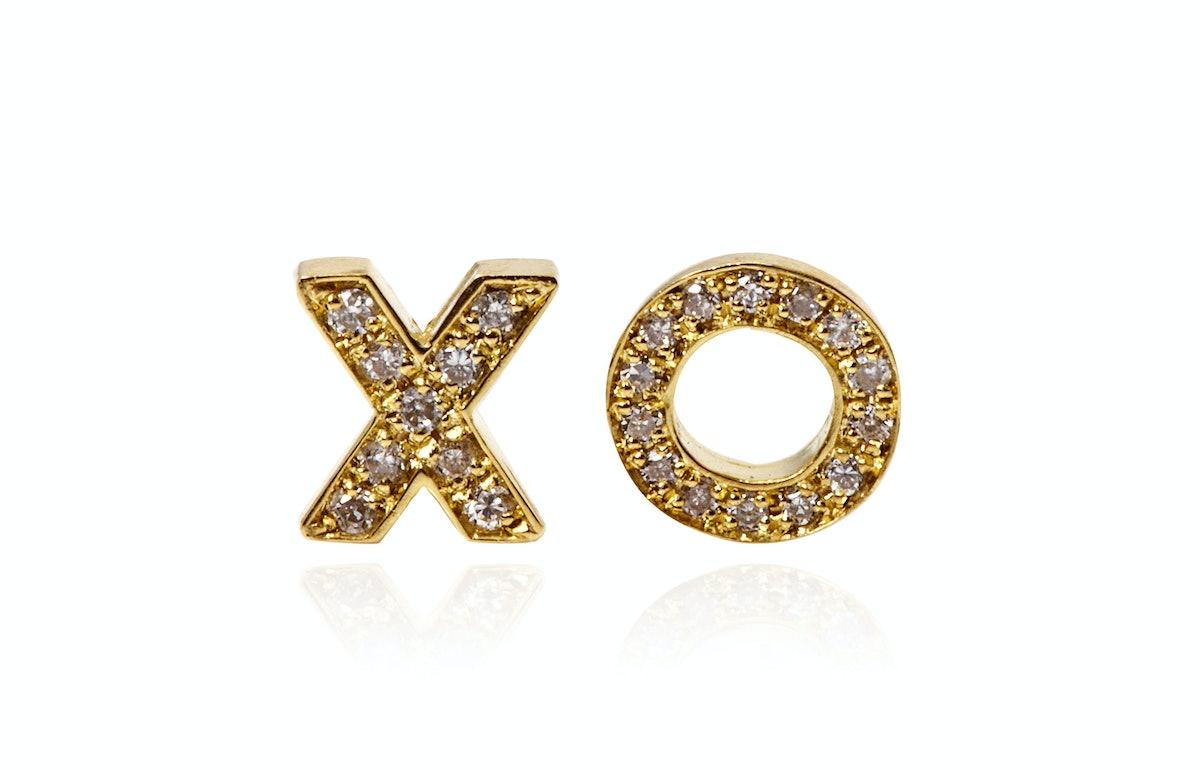 Jennifer Meyer XO Earrings