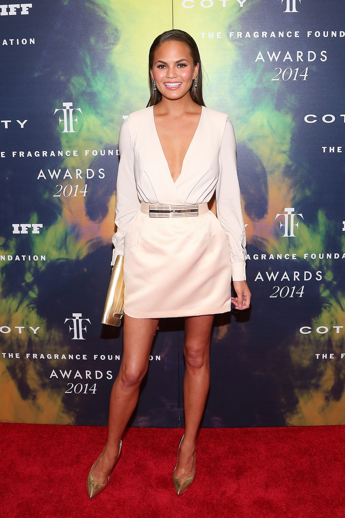 Chrissy Teigen Fragrance Awards