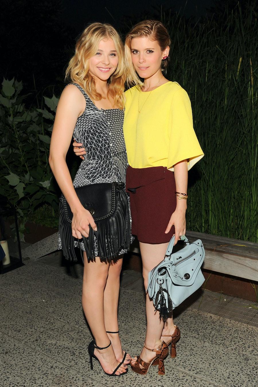 Chloe Grace Moretz and Kate Mara