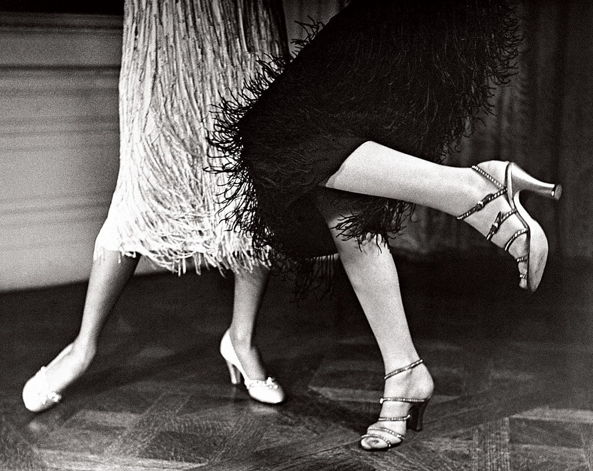 Strappy sandals, 1949