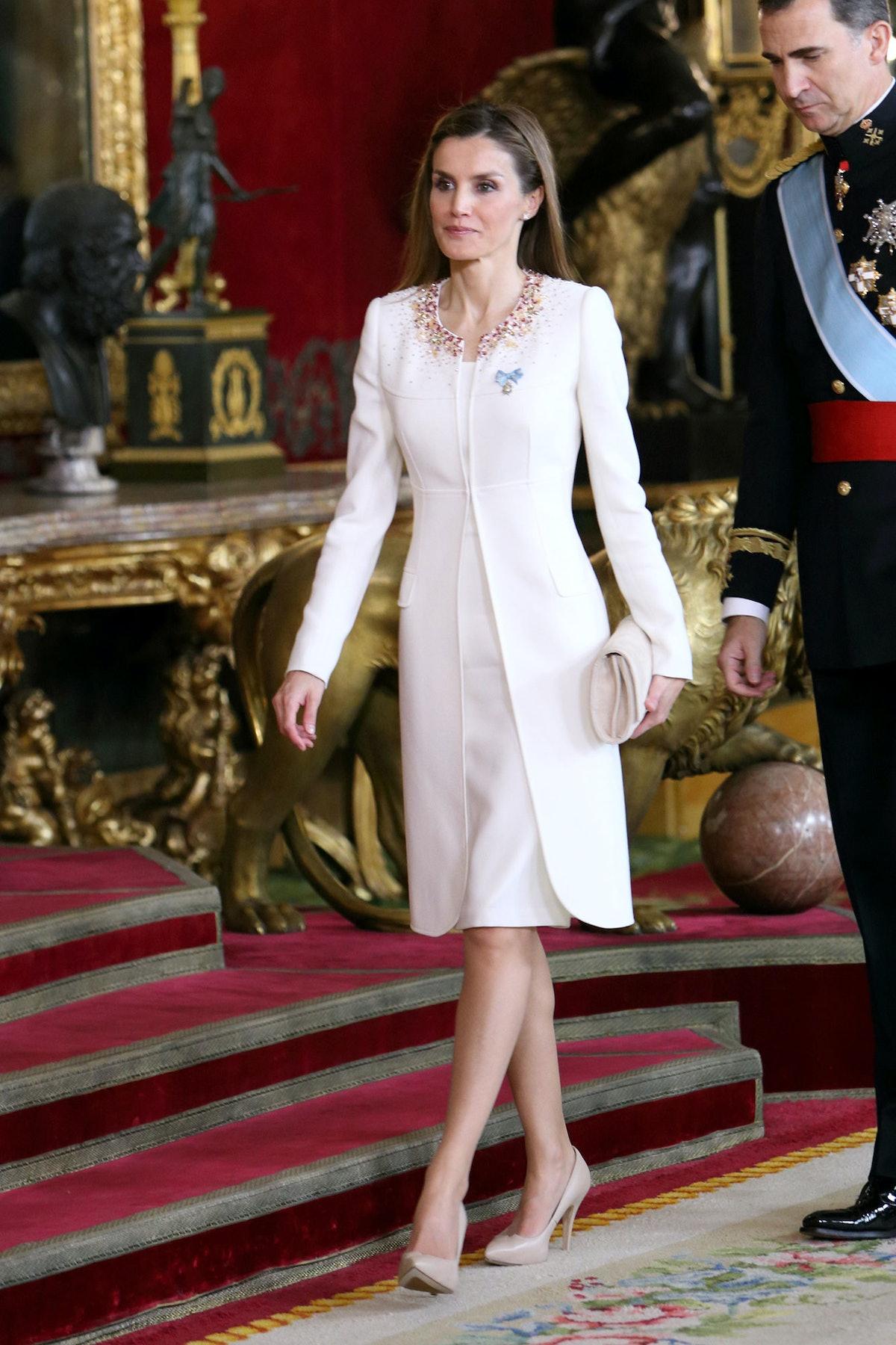 Queen Letizia of Spain Coronation