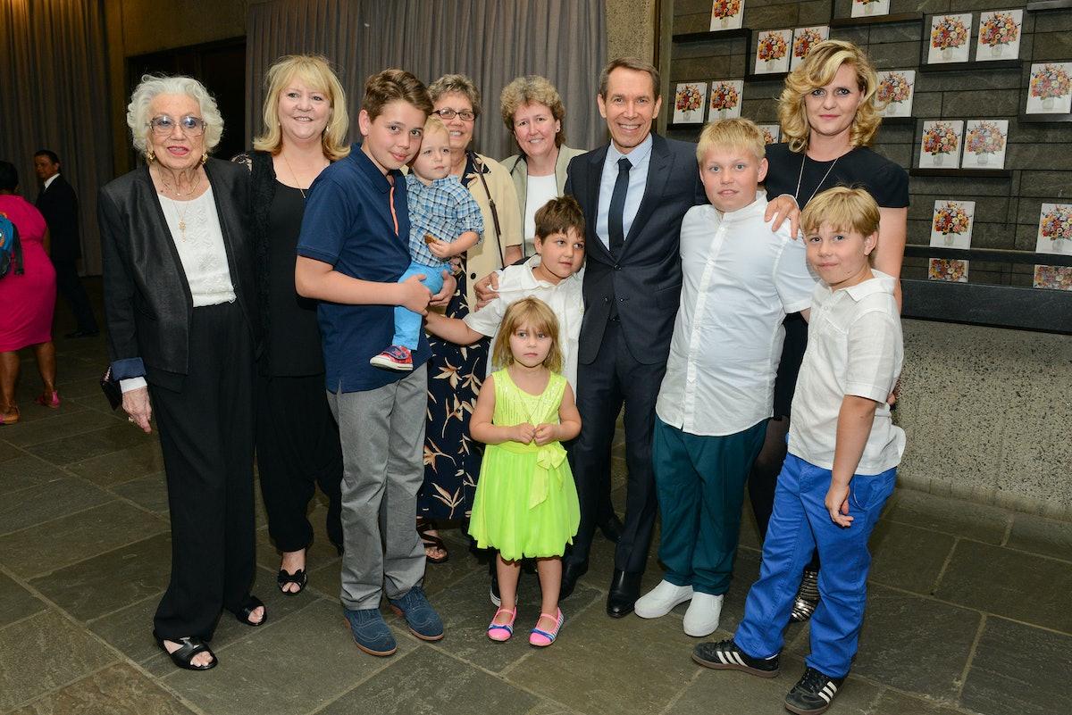 Jeff Koons family