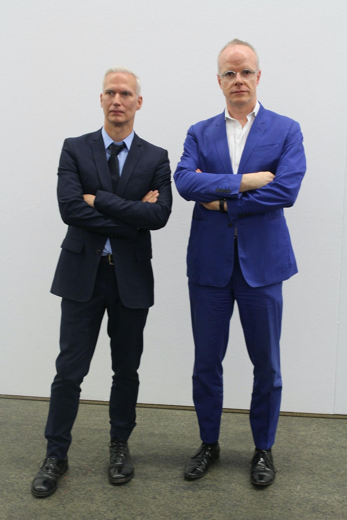 14 Rooms Hans Ulrich Obrist and Klaus Biesenbach