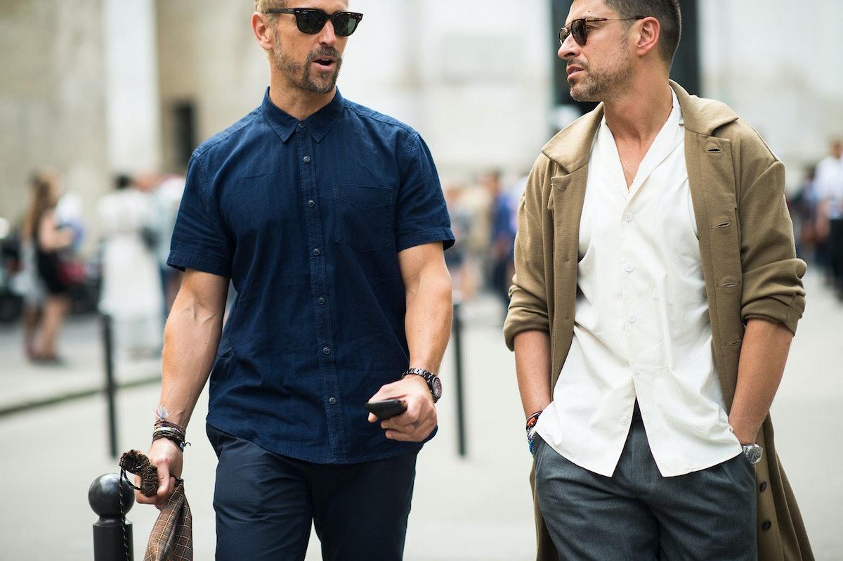 Paris Men's Fashion Week Street Style Day 1