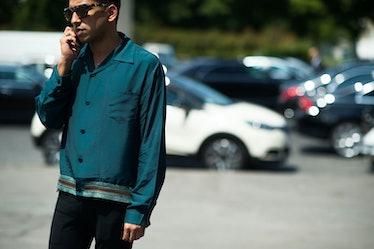 Paris Men's Fashion Week Street Style Day 2