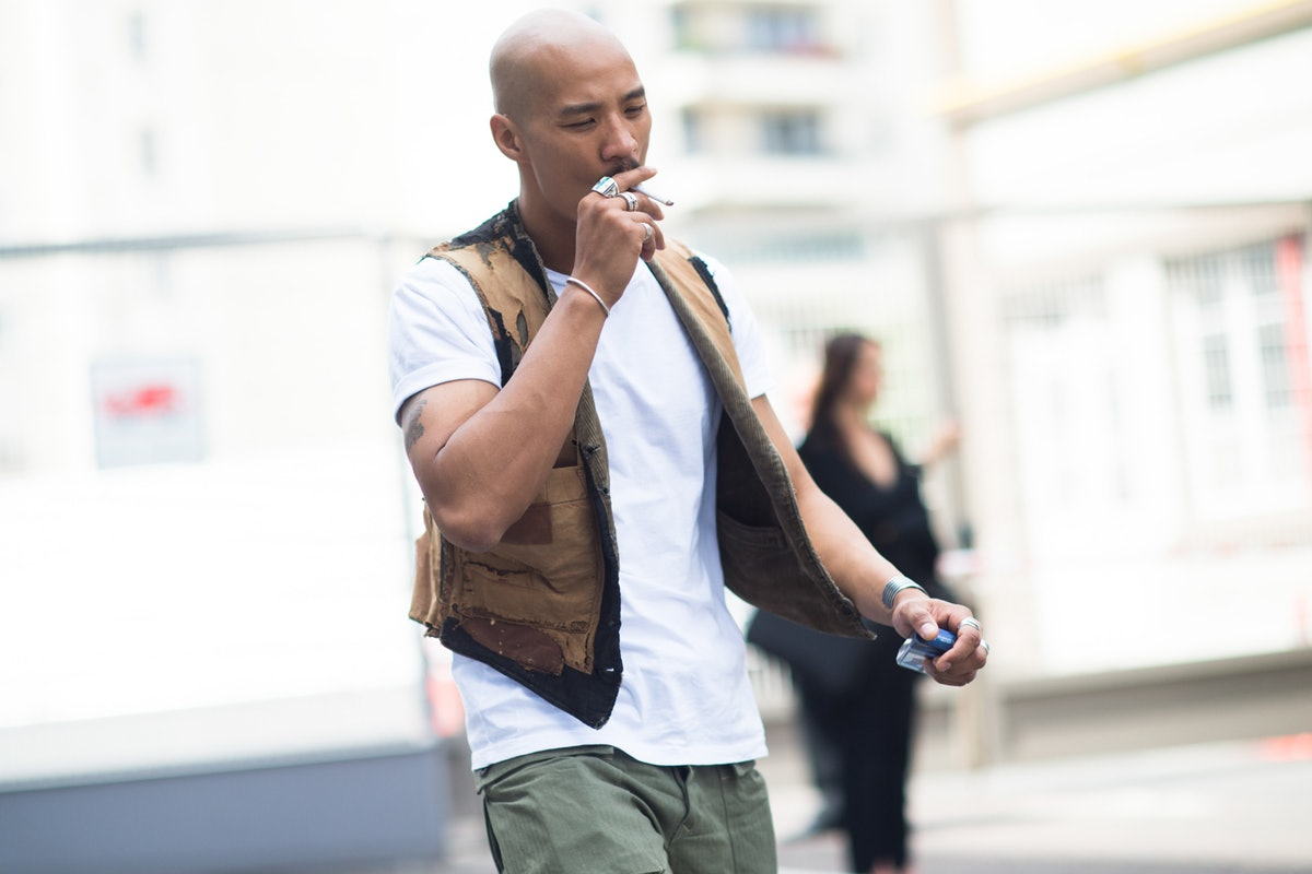 Paris Men's Fashion Week Street Style Day 3