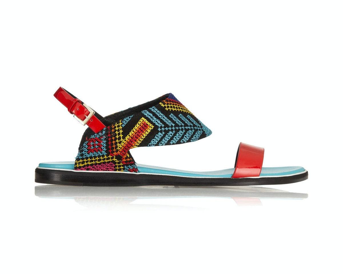 Nicholas Kirkwood flat sandals