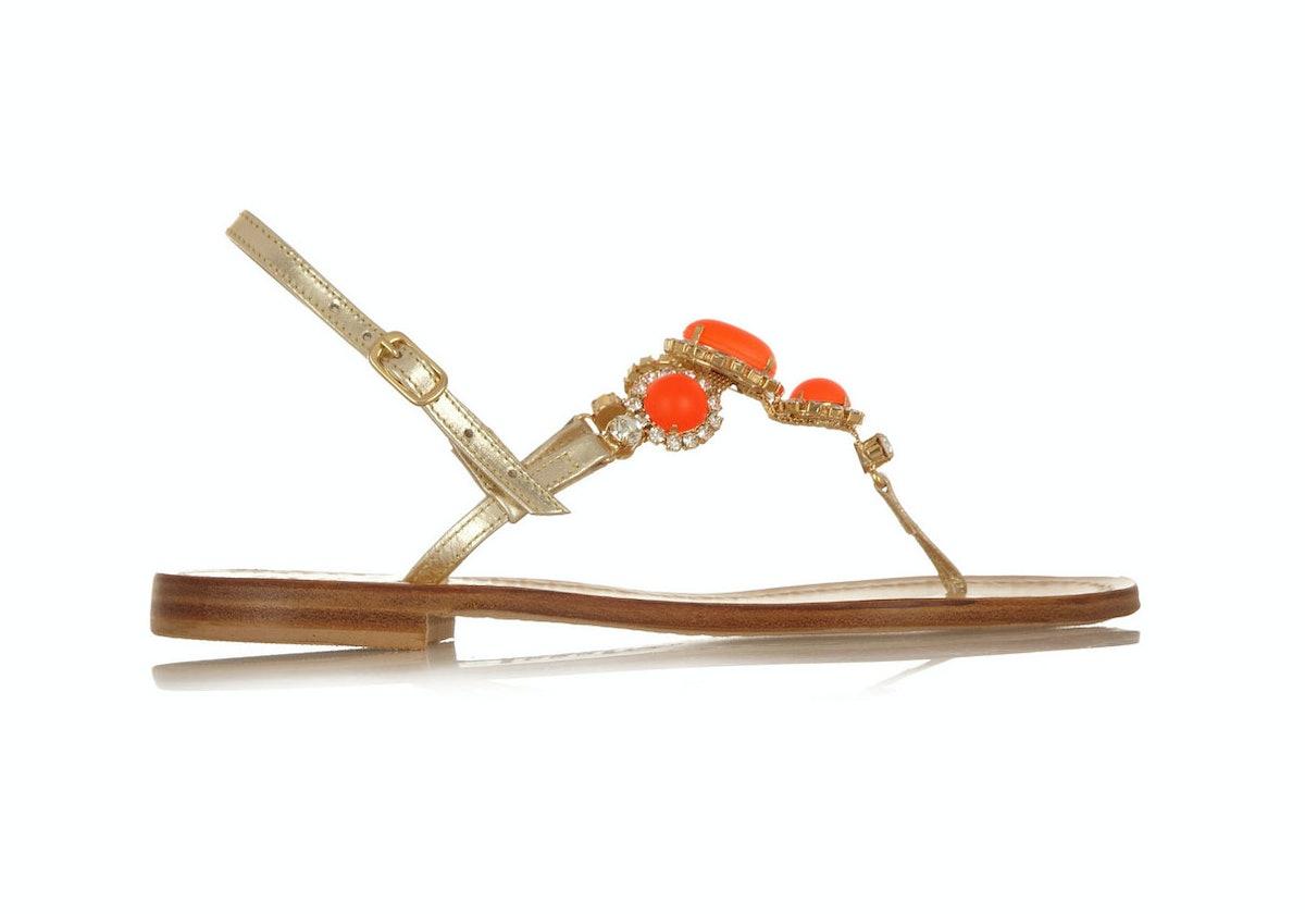 Musa embellished flat sandals