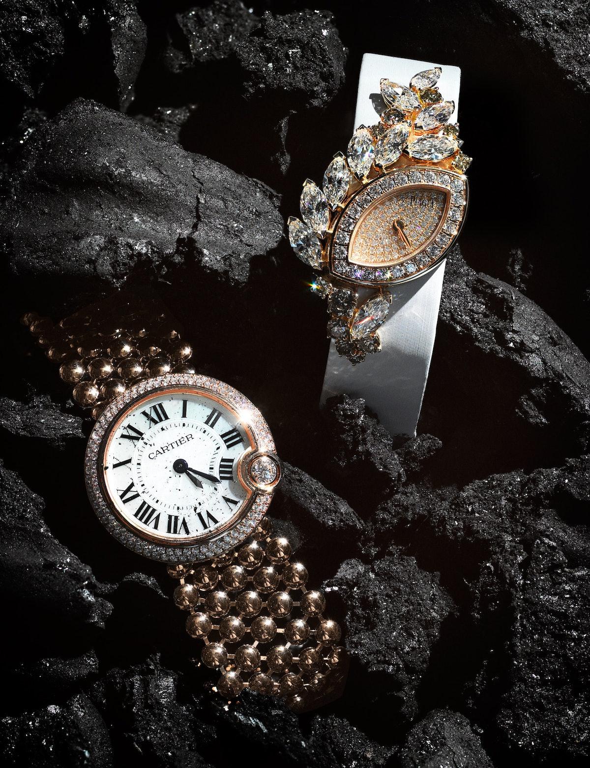 Gold Watches Cartier Piaget