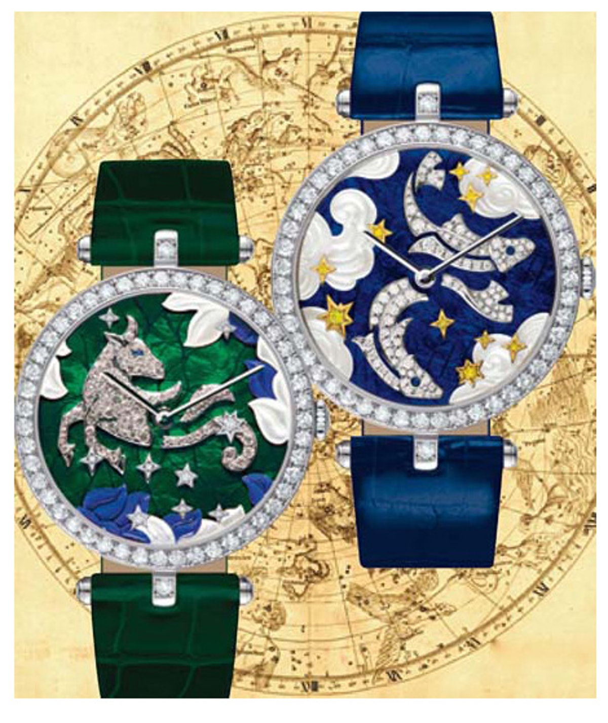 Van Cleef & Arpels's Poetry of Time collection