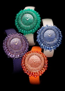 Though de Grisogono's Grappoli watches