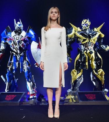 Nicola Peltz in Dior