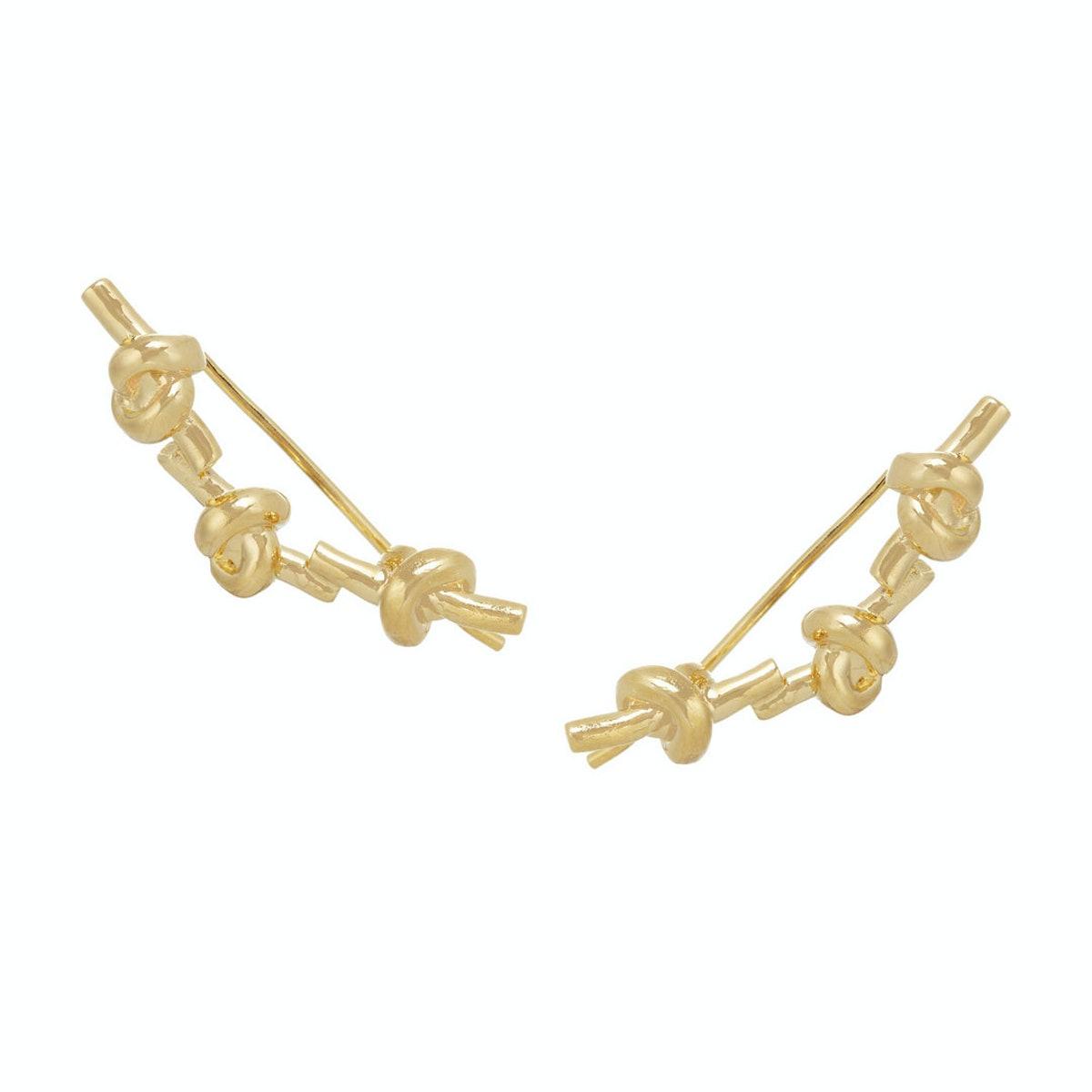 Jennifer Fisher knot earrings