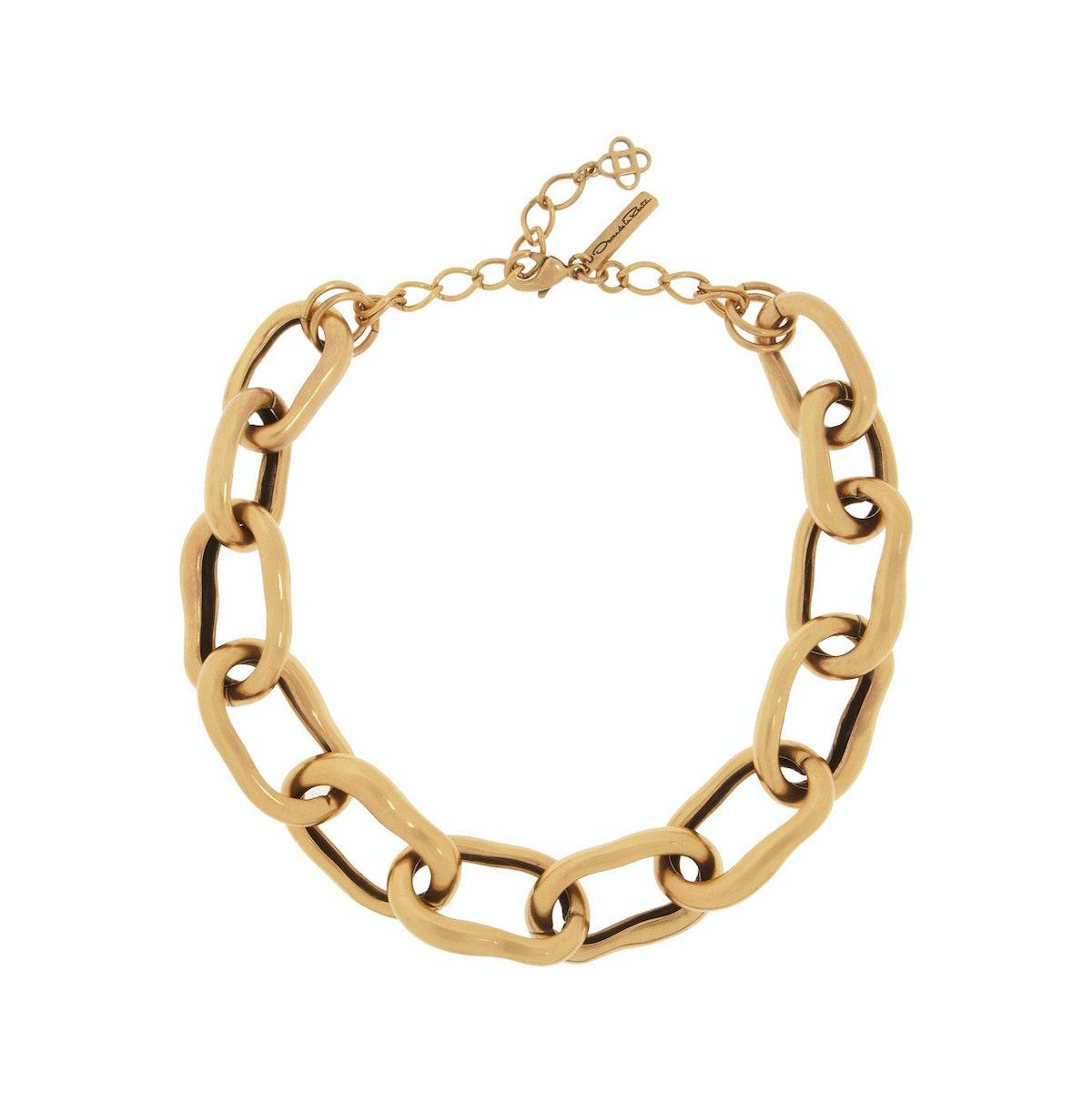 Oscar de la Renta necklace