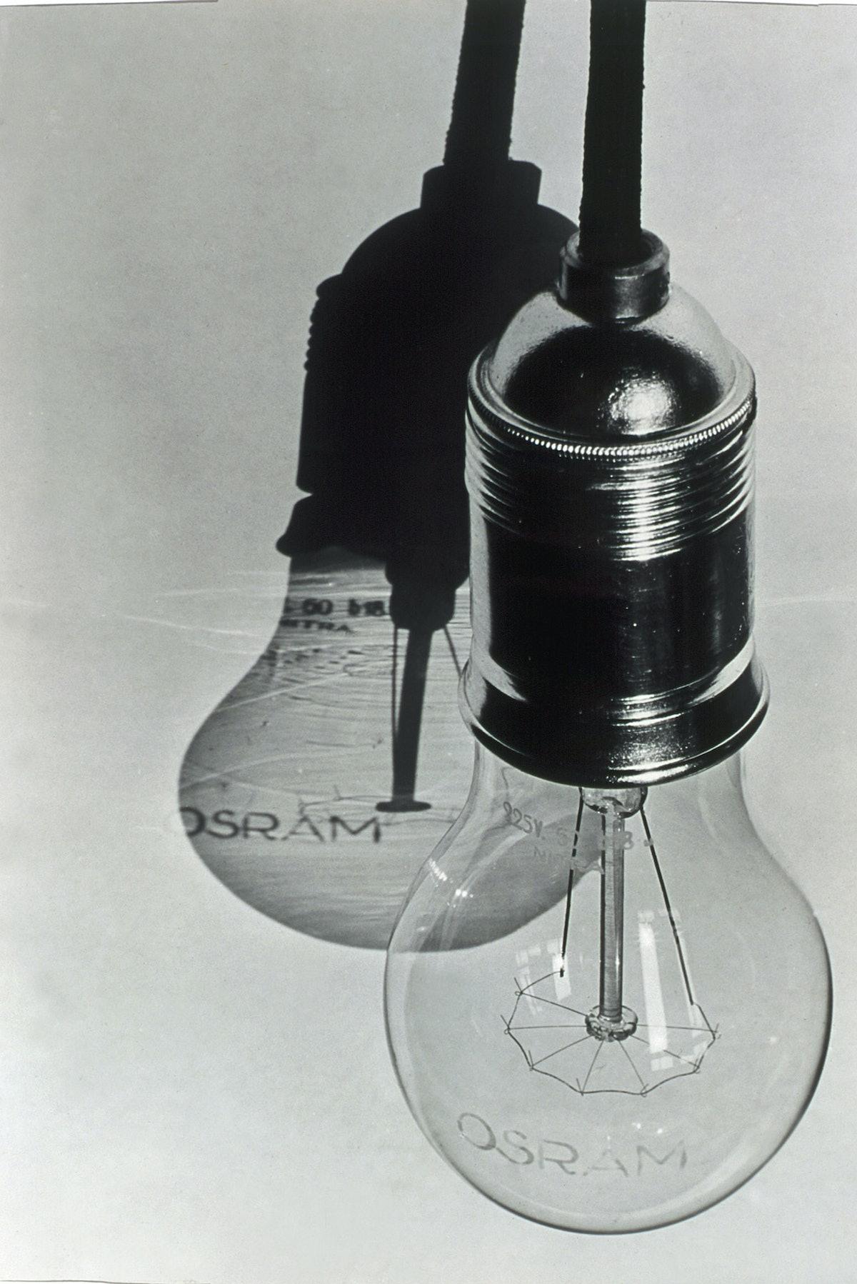 Hans Finsler's Osram Light Bulbs