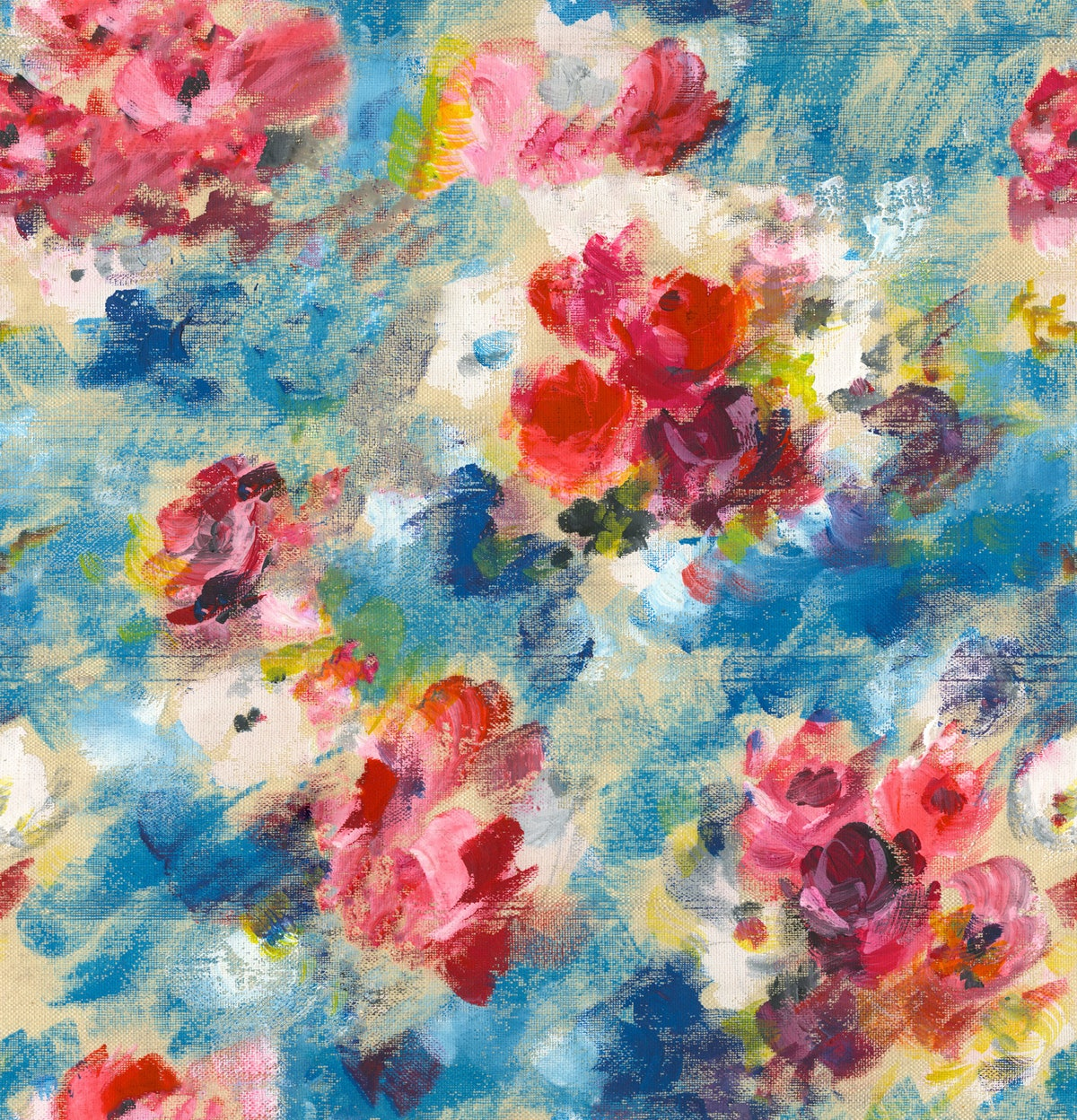Band of Outsiders FW14 Painted Flower print