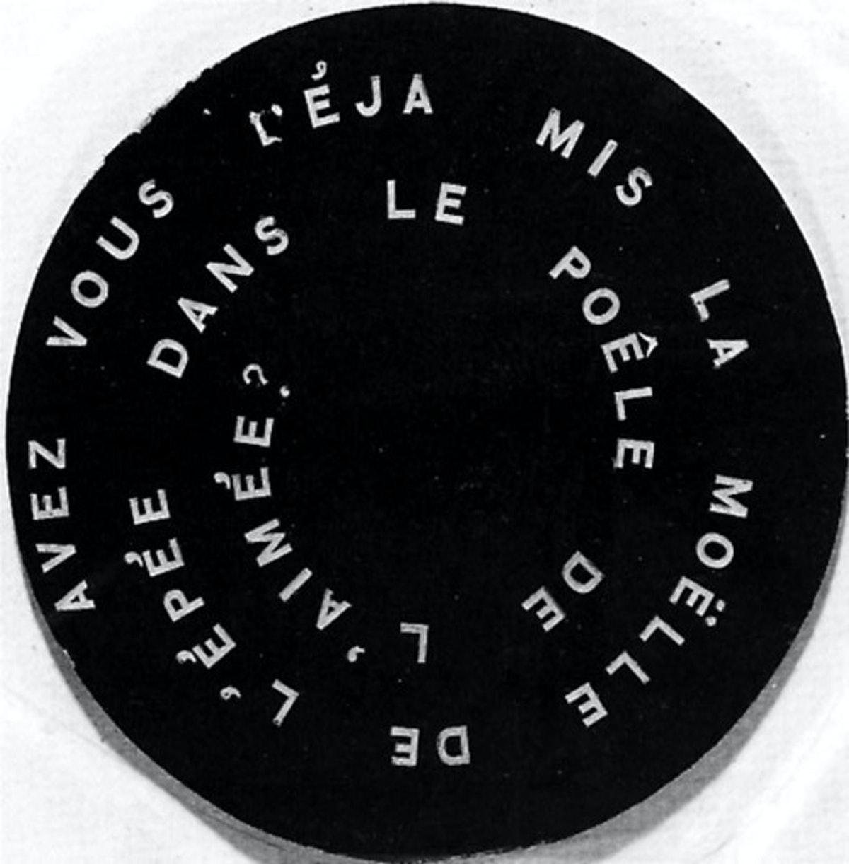 Marcel Duchamp's Anemic Cinema
