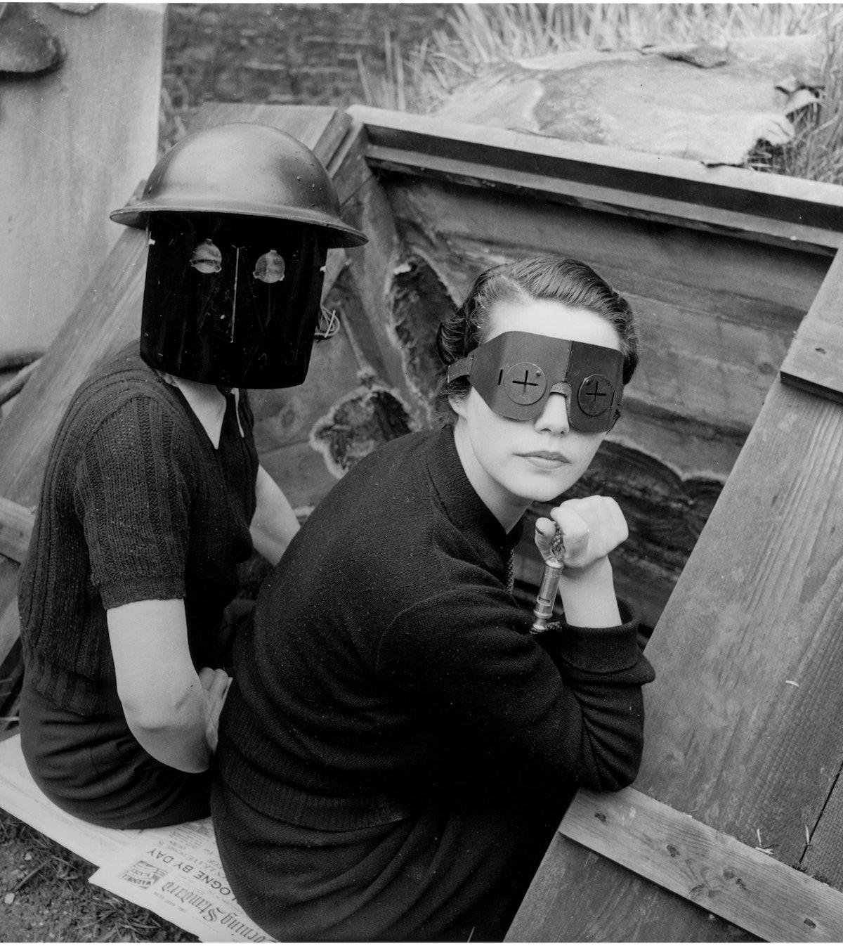 Lee Miller's Fire Masks