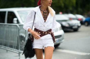 Paris Haute Couture Fall 2014 Street Style Day 3.