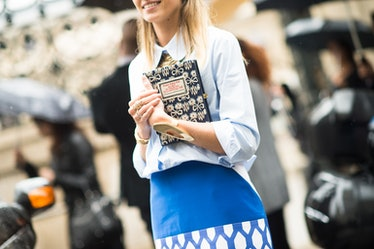 Paris Haute Couture Fall 2014 Street Style