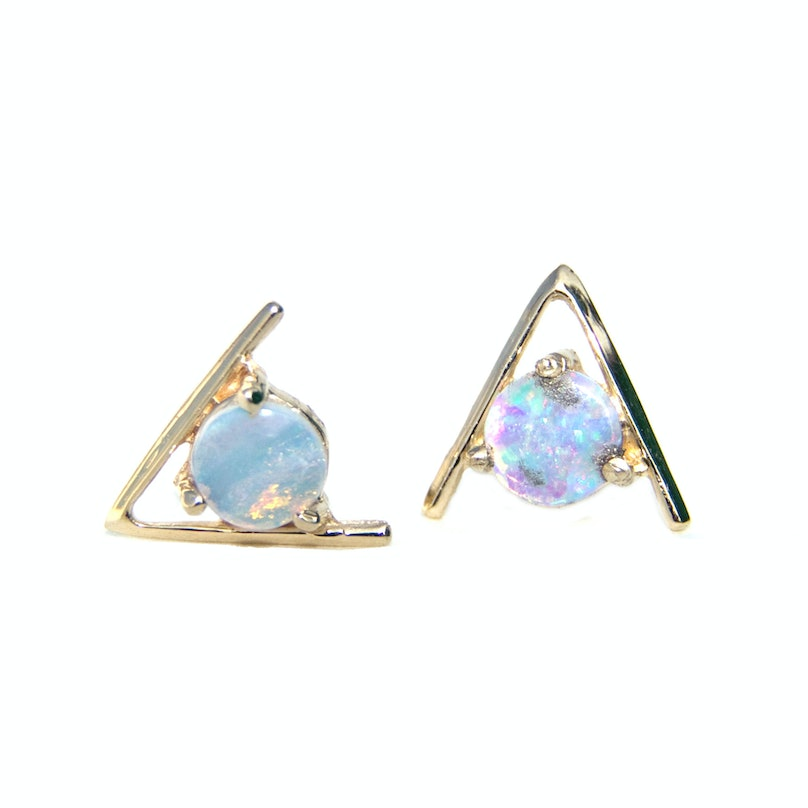 WWAKE opal earrings