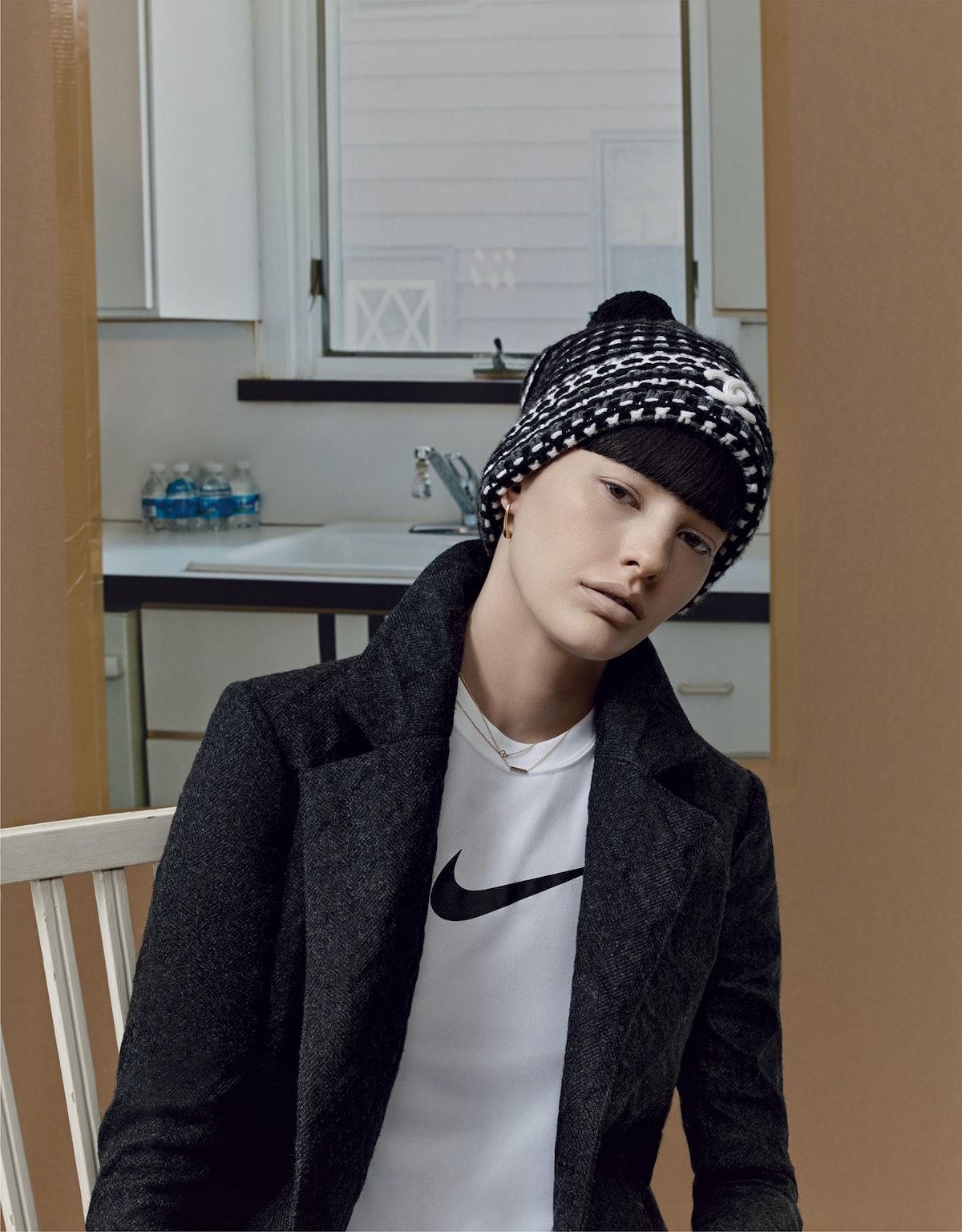 Chanel coat Normcore