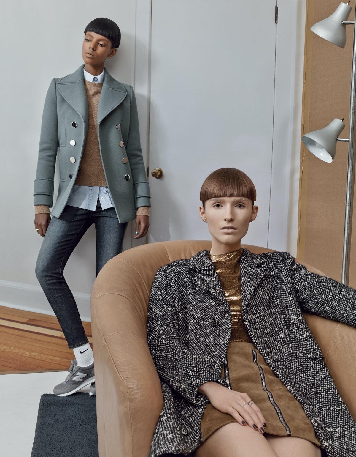 Gucci coat normcore