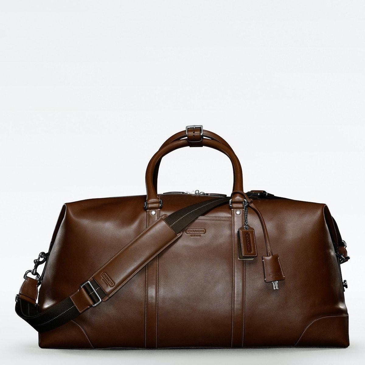 Coach suitcase