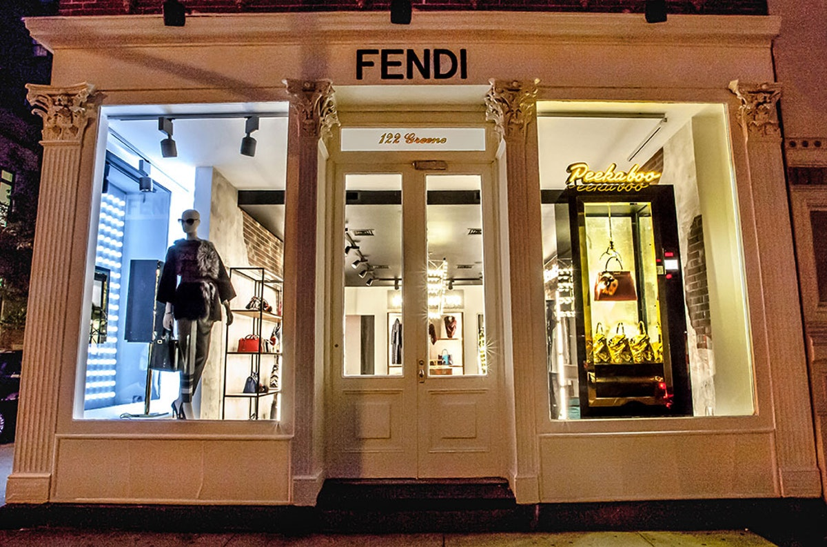Fendi's SoHo Pop Up