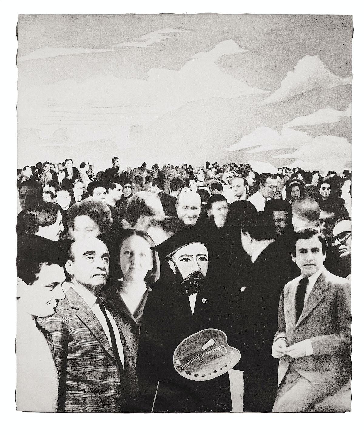 Giulio Paolini's Autoritratto