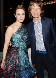 Rachel McAdams and Mick Jagger