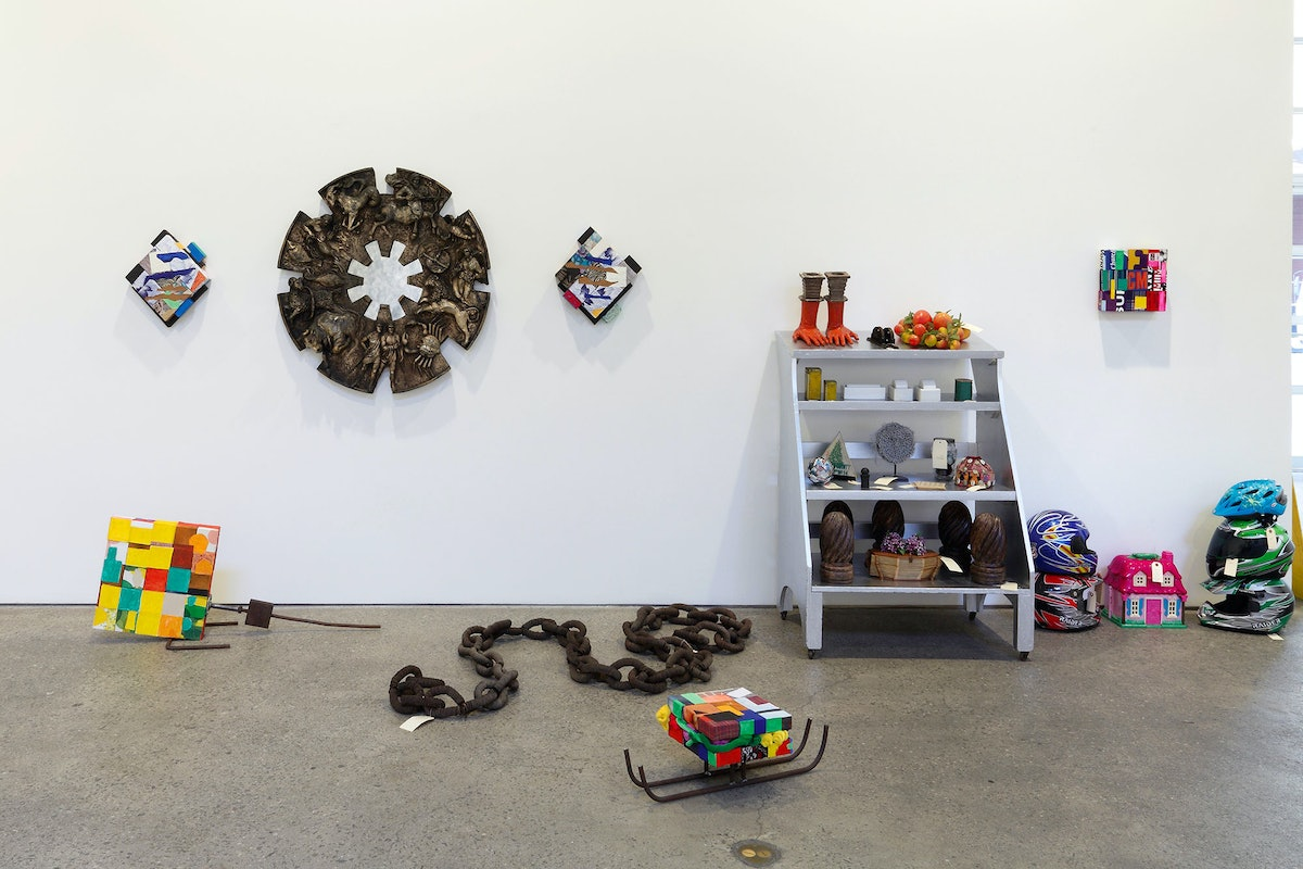 Installation view, 2014 by Nancy Shaver