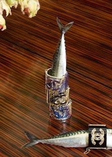 Chanel Bracelets with mackerel, 2013 by Roe Ethridge