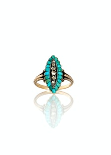 The One I Love Turquoise Ring