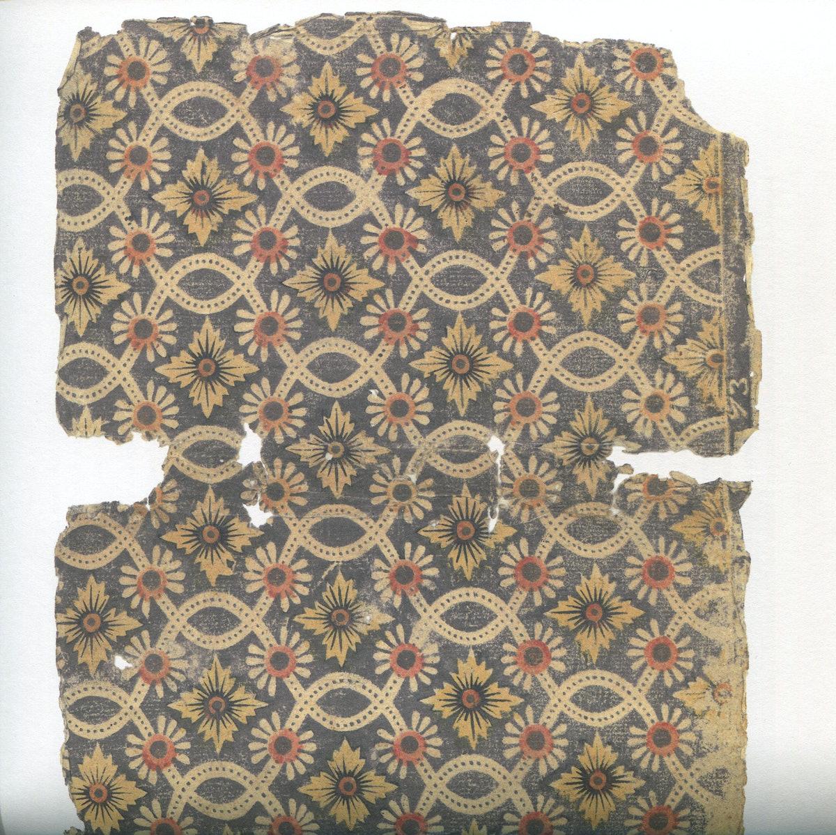 Vintage folk textile