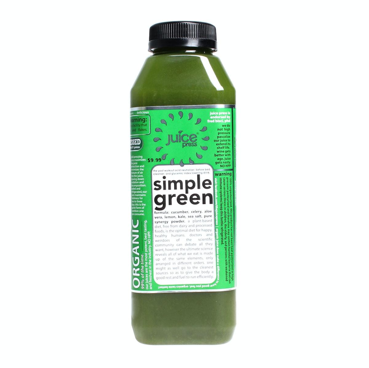 Juice Press Simple Green Juice