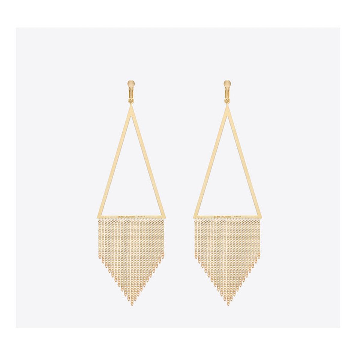 Saint Laurent by Hedi Slimane earrings