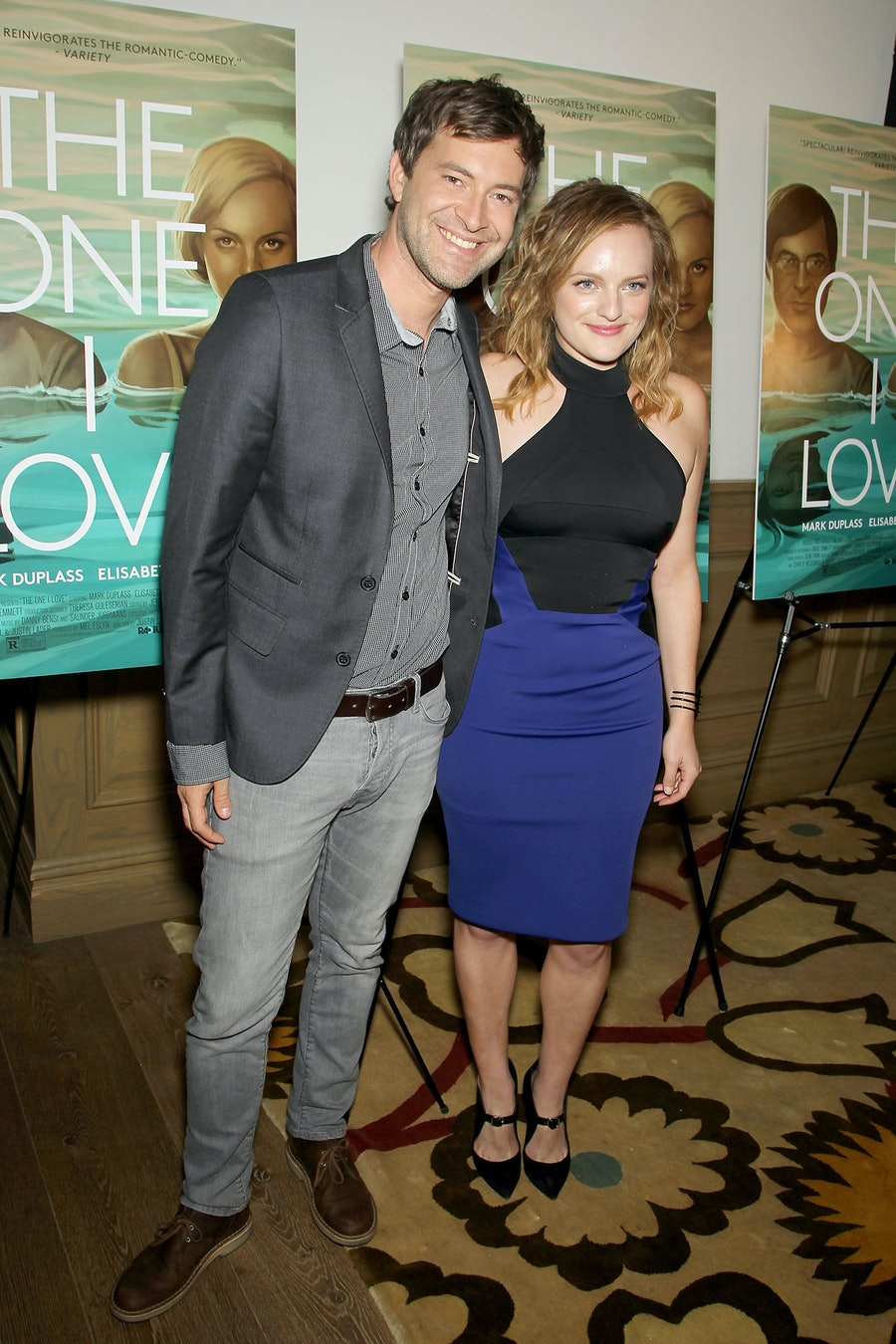 Mark Duplass and Elisabeth Moss