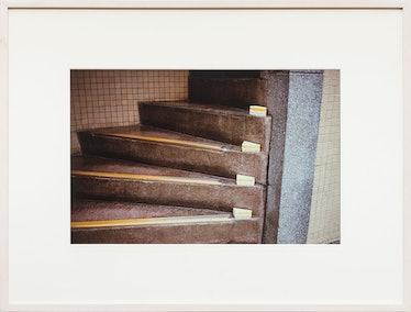 Sandwhich Steps, 2000 by Gabriel Orozco