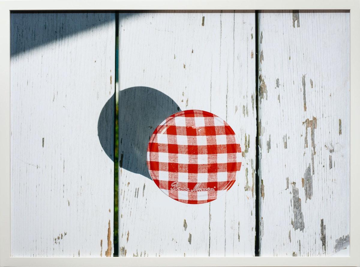Bonne Maman Jar, 2013 by Roe Ethridge