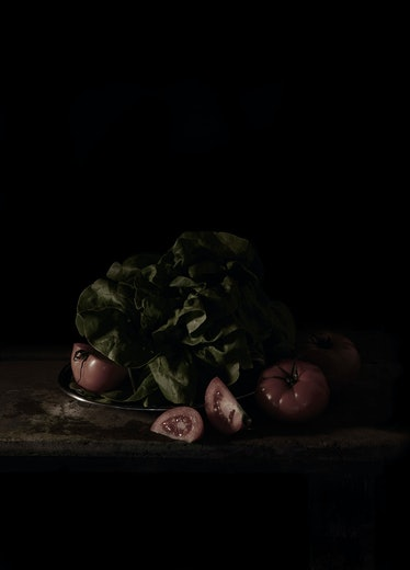 Last Meal on Death Row, Texas (Chester Wicker), 2011 by Mat Collishaw.